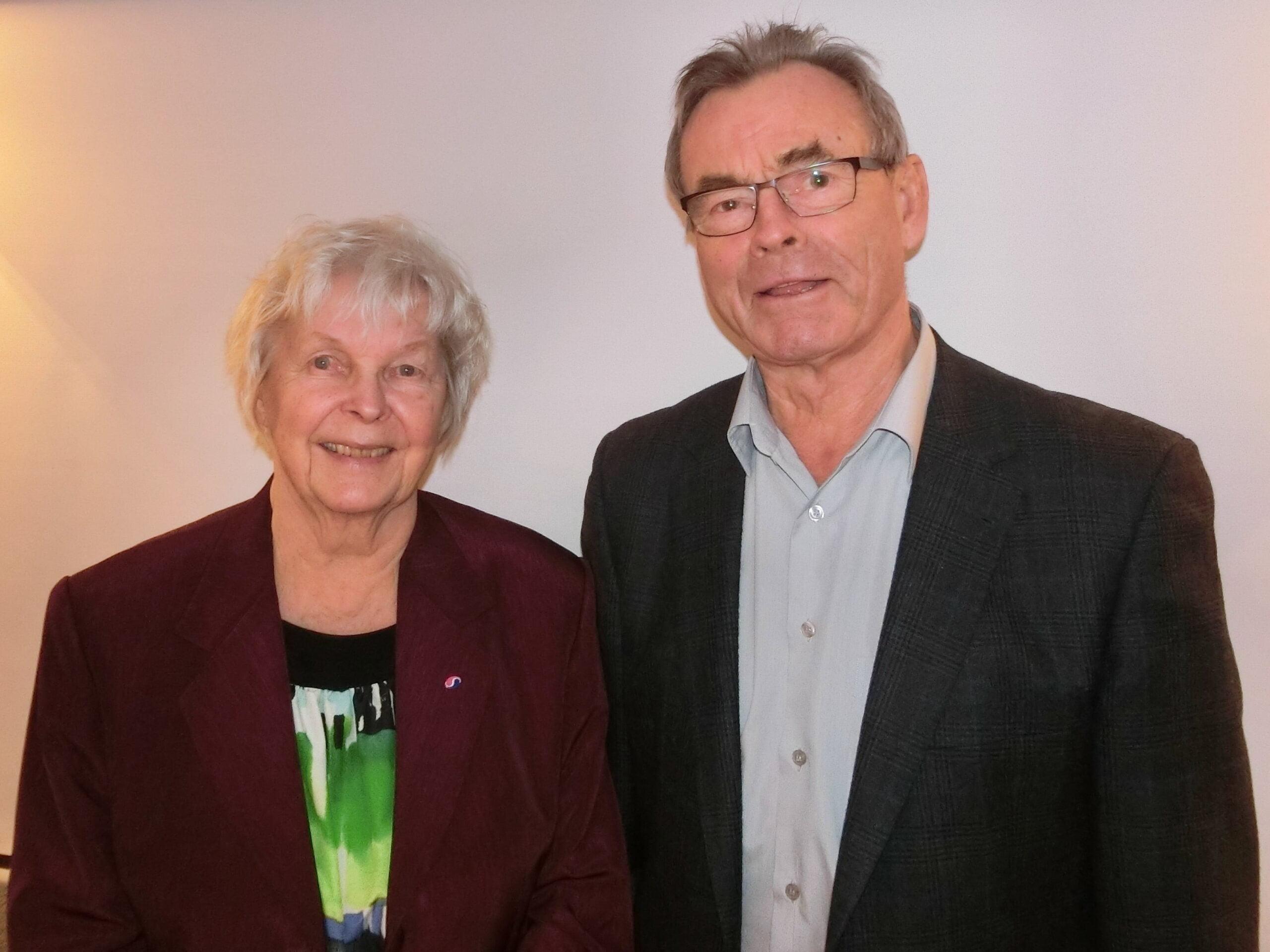 Audhild Freberg Iversen og Per Nygaard-Østby
