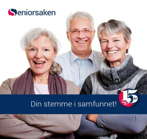Seniorsaken - din stemme i samfunnet