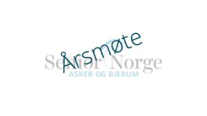 Senior Norge Asker og Bærum - Årsmøte