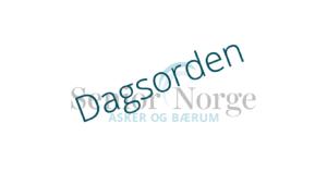 Senior Norge Asker og Bærum - Dagsorden
