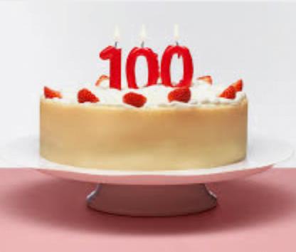 Vi gratulerer hjerteligst med 100-års dagen i går